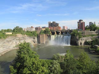 High Falls on the Genesee River