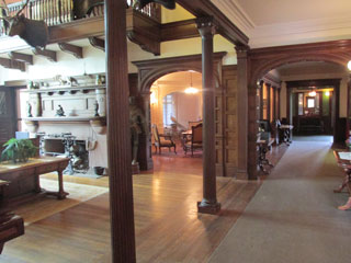 The long hallway where Claire first saw John.