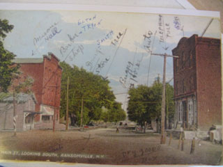 An old postcard of Ransomville
